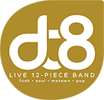 DT8 Live 12-Piece Band Logo